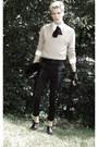 Topman-boots-vintage-sweater-vintage-shirt-vintage-bag