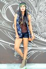 Camel-fringe-forever-21-boots-dark-brown-tank-top-wet-seal-top-navy-h-m-top