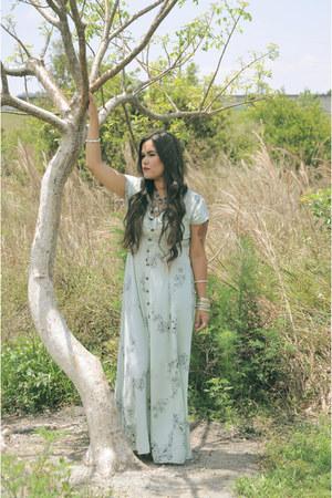 periwinkle maxi Rowie Designs dress