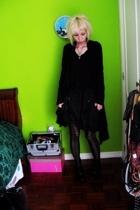 jacket - jacket - skirt - boots