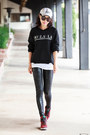 Zella-leggings-karen-walker-sunglasses-nike-sneakers-wildfox-sweatshirt