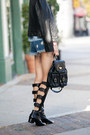 Chanel-boots-black-boots-black-jacket-french-connection-jacket-black-bag