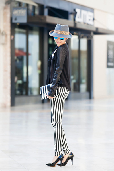 Hudson jeans - Marc Jacobs bag - rayban glasses
