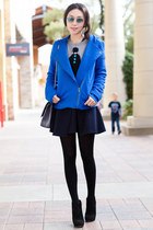 Michael Kors boots - cameo dress - Marc by Marc Jacobs jacket - JCrew sweater