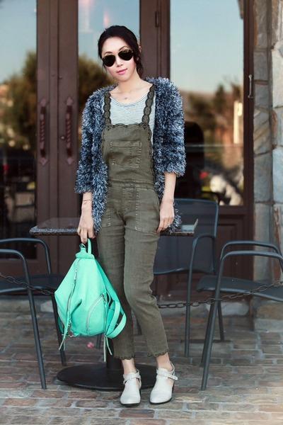 Rebecca Minkoff bag - Choies cardigan