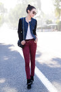 Black-boots-free-people-jeans-brick-red-jeans-navy-blazer