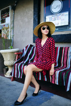 Splendid dress - Nordstrom hat - ray-ban sunglasses