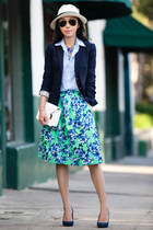 JCrew skirt - JCrew shirt