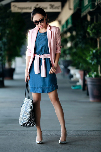JCrew dress - Joie blazer