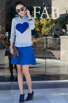 JCrew sweater - Isabel Marant boots - gryphon shirt - Clare Vivier bag