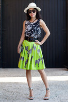 Choies skirt - Tibi heels