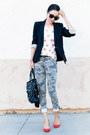 Black-blazer-theory-blazer-hudson-jeans-black-bag