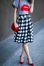 Chicwish-skirt-red-valentino-t-shirt