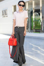 Red-bag-kate-spade-bag-tibi-boots-kate-spade-pants-light-pink-top