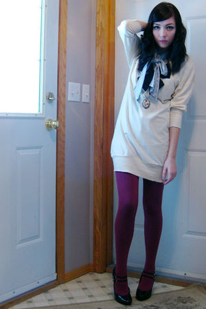 purple joe fresh style tights - black Spring shoes
