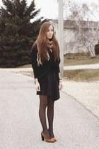 black The Free Island sweater - black H&M skirt
