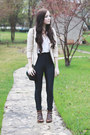 Dark-brown-modern-vice-boots-black-american-apparel-pants