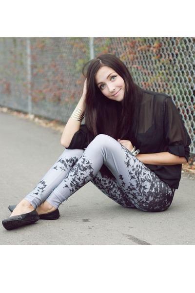 heather gray Lovelysally leggings