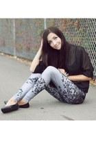 heather gray Lovelysally leggings