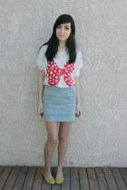 urban behavior skirt - wwwromwecom romwe shirt - Joe Fresh flats