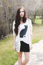 white acid reign t-shirt