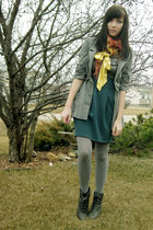 yellow Costa Blanca accessories - green urban behavior skirt - gray urban behavi