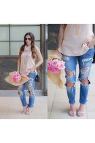 blue jeans Nasty Gal jeans