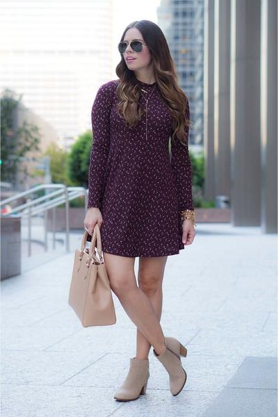 crimson dress Nordstrom dress