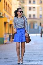 Tag Heuer watch - coach bag - vintage sunglasses - JCrew skirt - Zara heels