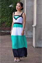 Zara shoes - banana republic dress - Tag Heuer watch