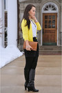 Banana-republic-boots-hue-tights-zara-bag-zara-skirt-zara-blouse