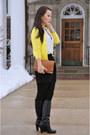 Banana-republic-boots-hue-tights-zara-bag-zara-skirt-zara-blouse