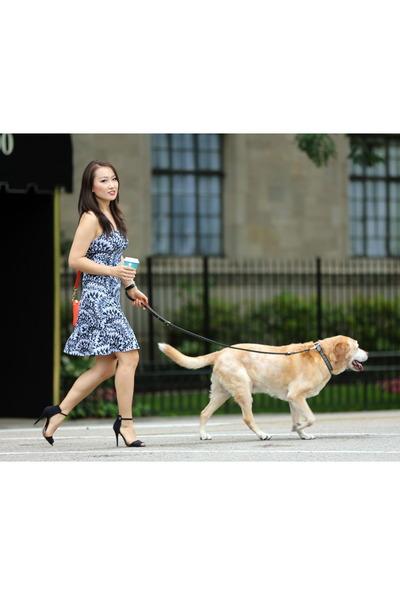 Prana dress - JCrew bag - Zara heels