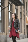 Black-zara-boots-crimson-dlr-boutique-chicago-dress-black-h-m-jacket