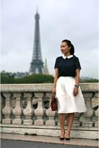 Christian Louboutin shoes - coach bag - Express skirt - ann taylor blouse