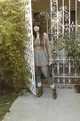 Brown-same-fashion-store-shoes-beige-calliope-cardigan-green-bershka-dress-
