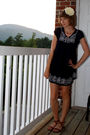 White-forever-21-accessories-blue-ross-dress-brown-j-crew-shoes