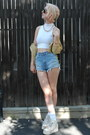 White-american-apperal-shirt-light-blue-unif-shorts-ivory-maxstar-sneakers