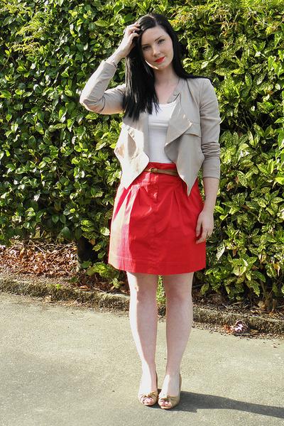 red portmans skirt
