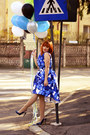 Blue-chi-chi-dress-navy-zara-heels