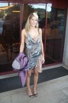 Isabel Marant dress - Miu Miu coat - Chanel lambskin 255 purse - Margiela shoes