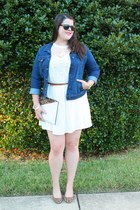 H&M dress - Old Navy jacket - Dorothy Perkins purse - Target pumps