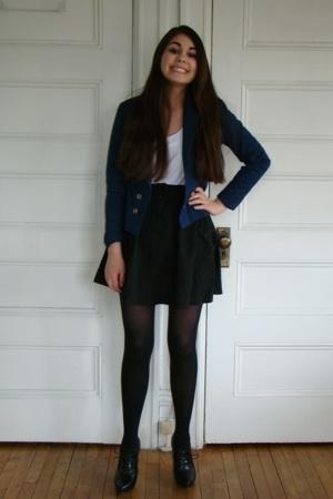 H&M blazer - H&M skirt - H&M shirt