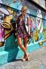 Heather-gray-leather-aigner-bag-sky-blue-denim-zara-vest-red-zara-sandals