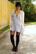Stripes and Knee Highs