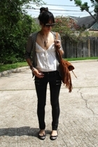 Macys sweater - Ross top - Hot Topic jeans - Burlington coat factory shoes - UO