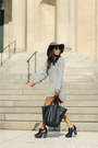 Black-leather-miista-shoes-heather-gray-felt-free-people-hat