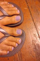 purple OPI accessories - silver Old Navy shoes