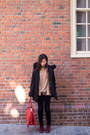 Maroon-suede-sam-edelman-boots-black-sachi-coat