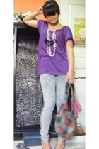 Mango t-shirt - unbranded pants - Zara accessories - Topshop shoes